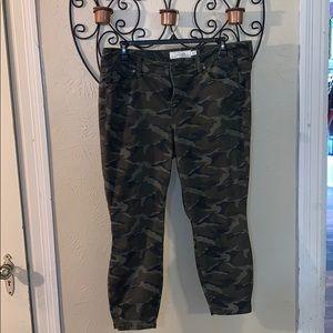 Torrid Camo Jeans